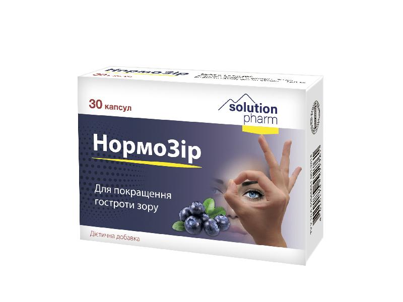 Вітаміни для зору під ВТМ приклад упаковки