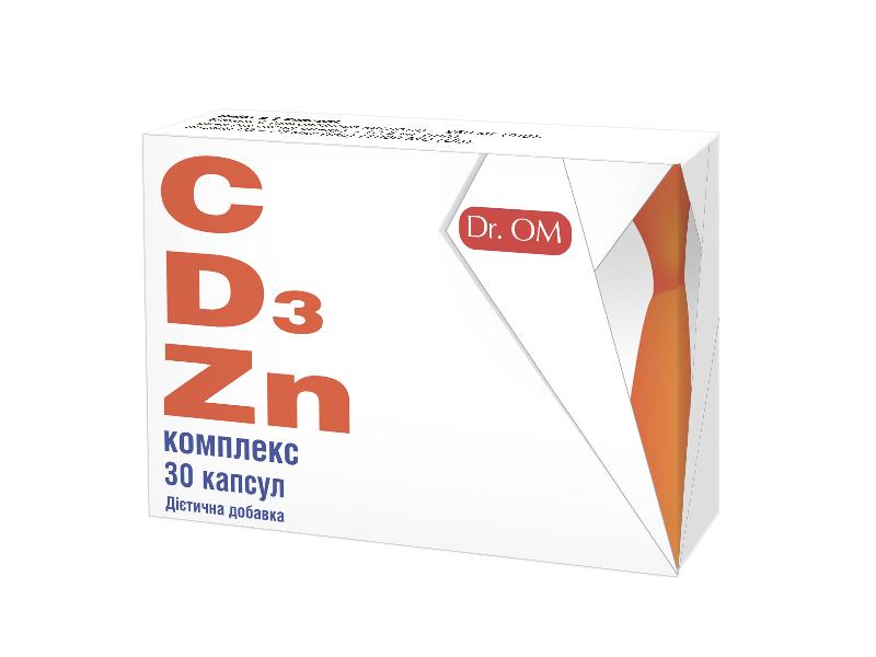 Комплекс с витаминами Д, С и цинком