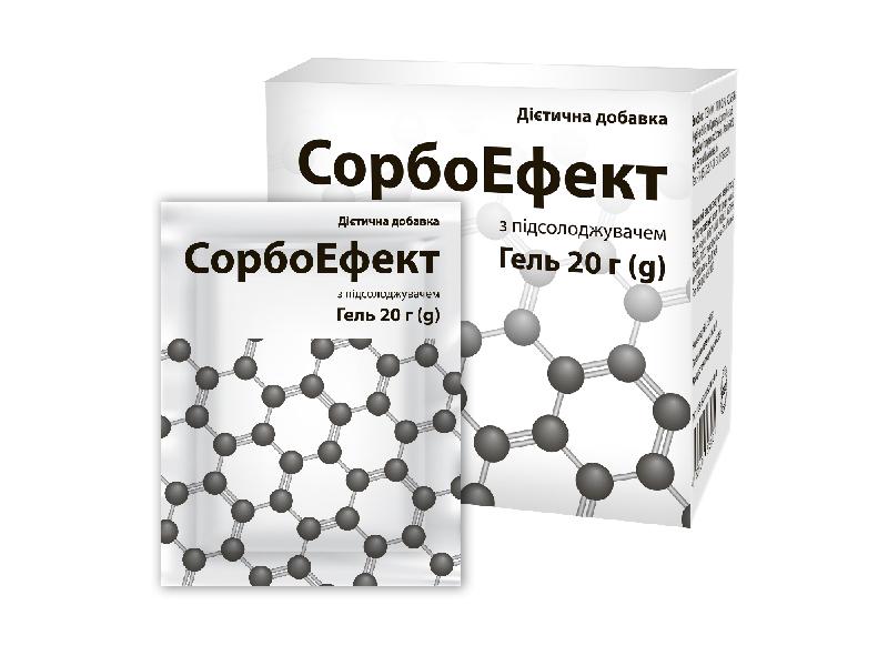 Диоксид кремния гель в саше под СТМ пример упаковки 1